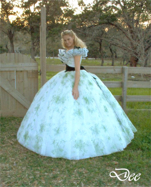 Scarlett o'hara kleider