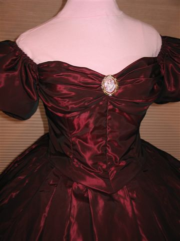 civil war ball gown bodice scarlett