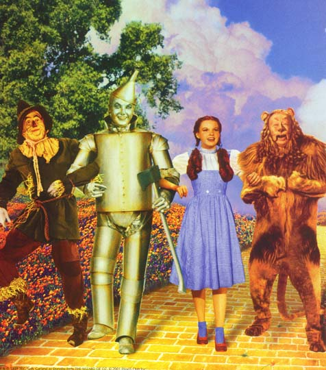 wizard of oz characters. its character names and